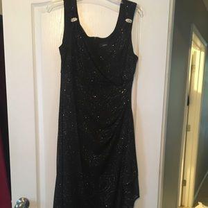 Black full length formal dress